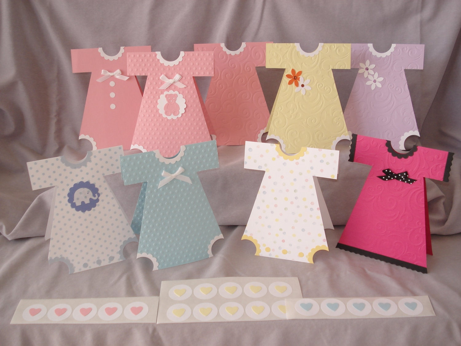 Invitation ideas for baby shower handmade crafts - Home made baby shower decorations ...