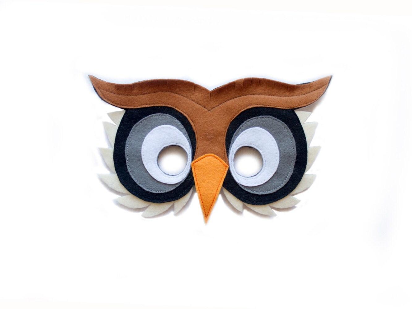 Как сделать маска птицы