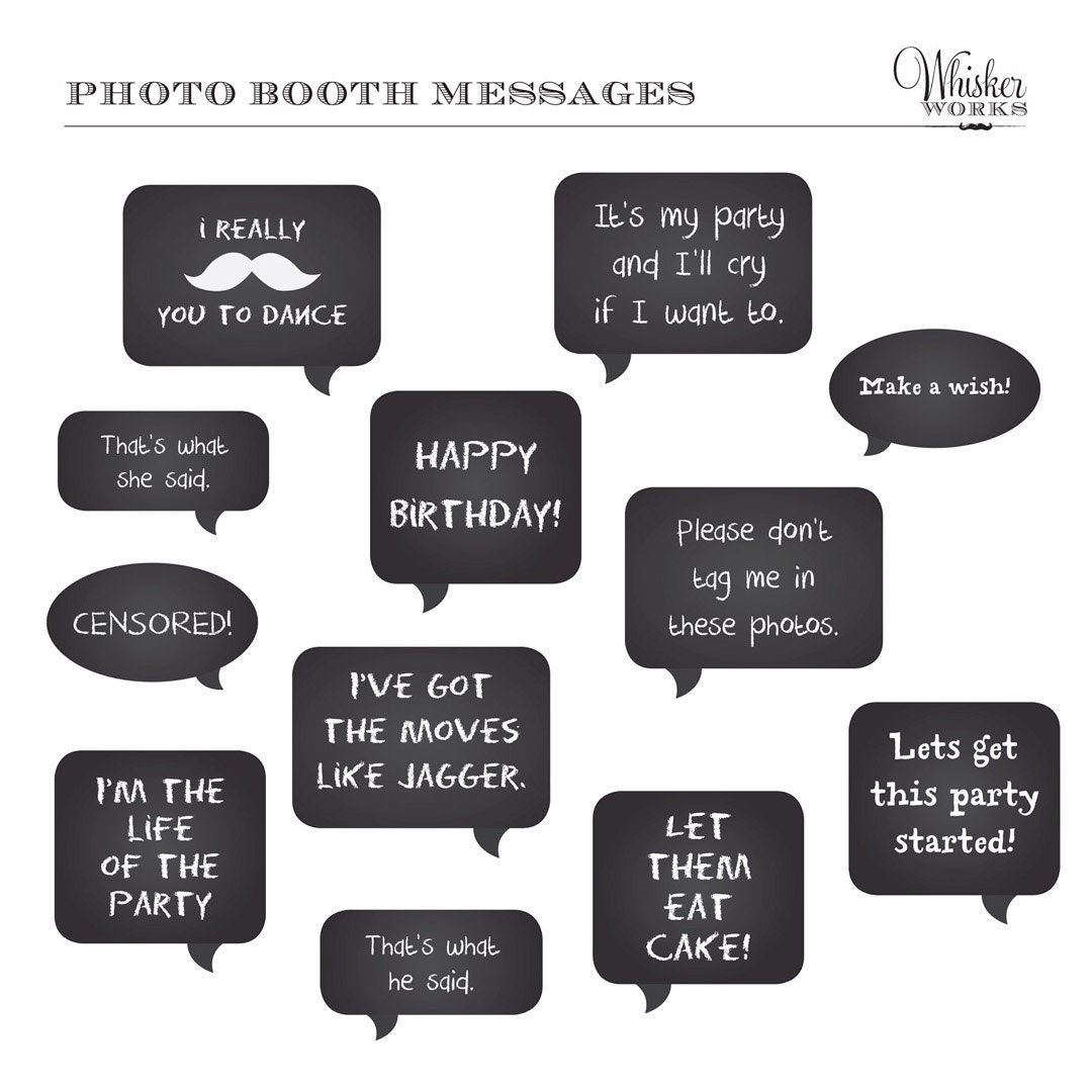 2015 New Year Party Printable Photo Booth Free Template | New Calendar ...