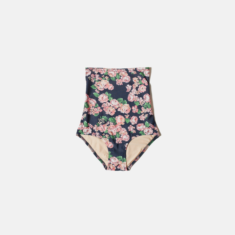 floral high waisted bikini - photo #23