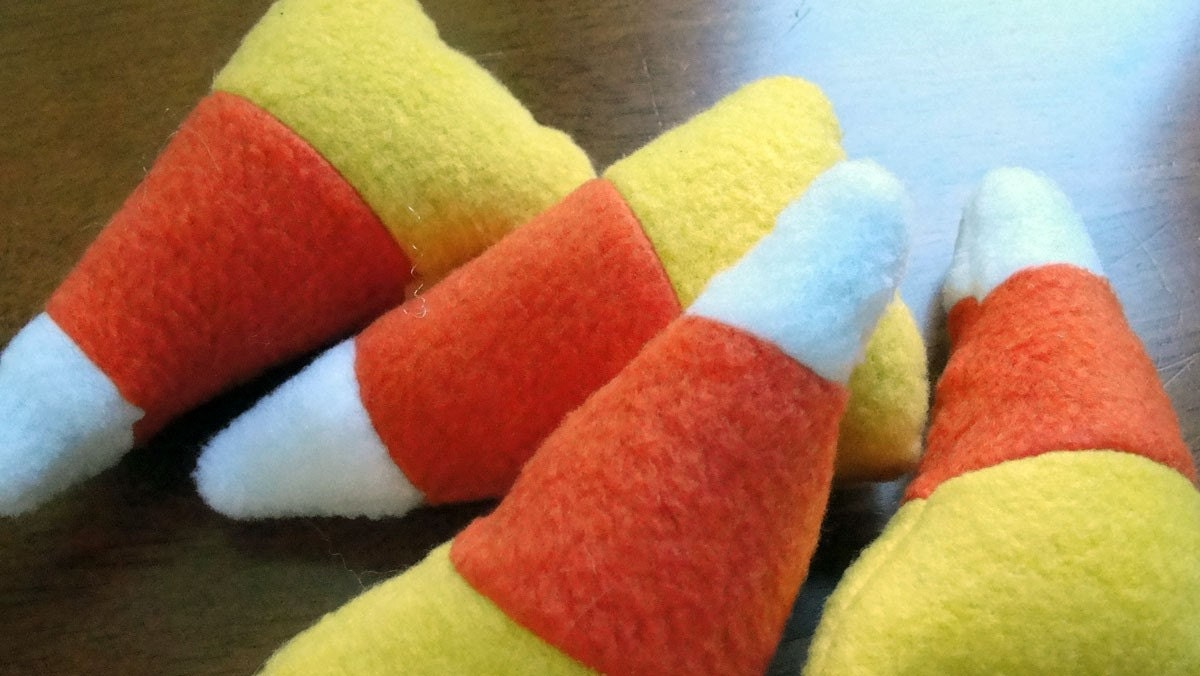 Catnip Candy Corn Cat toys
