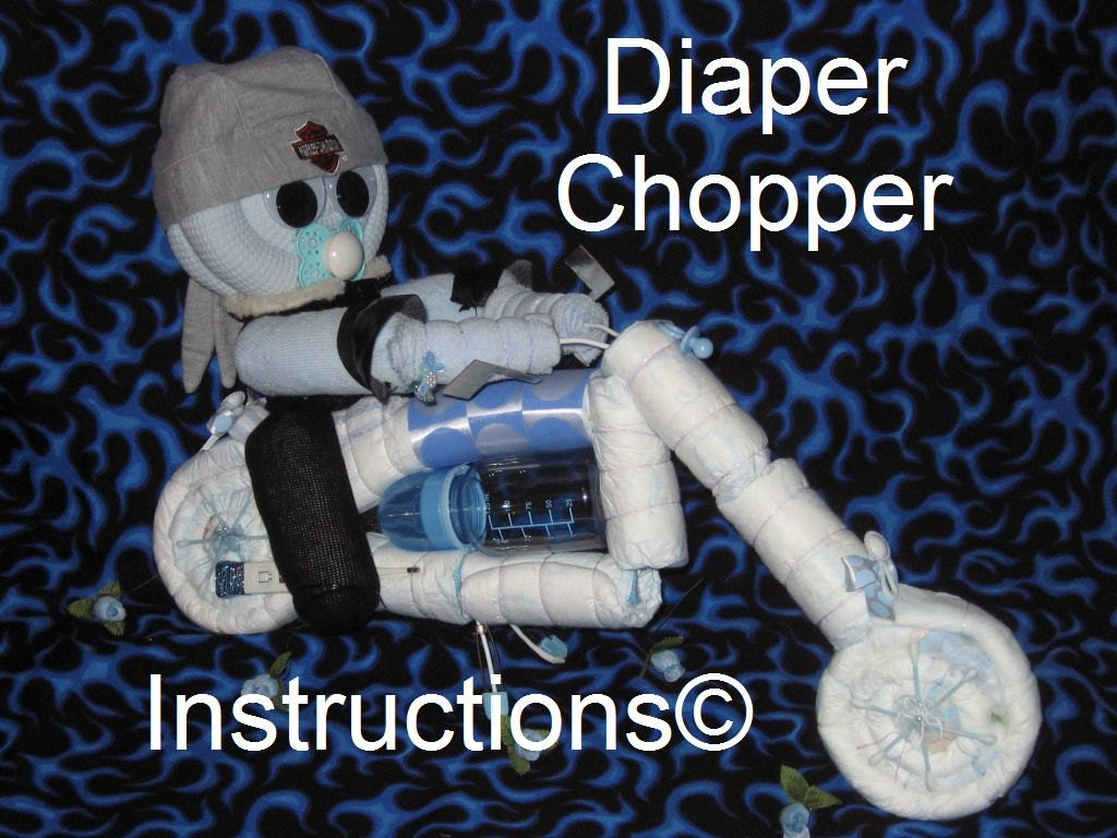 ... from diapers and such. GR8 centerpiece for baby shower diaper cake