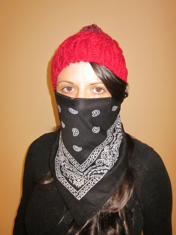 Бандана на лицо (72 фото шарф на голову, женская бандана на) 5
