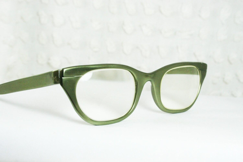 Tura 50s Cat Eye Glasses 1950s Metal Eyeglasses by DIAeyewear