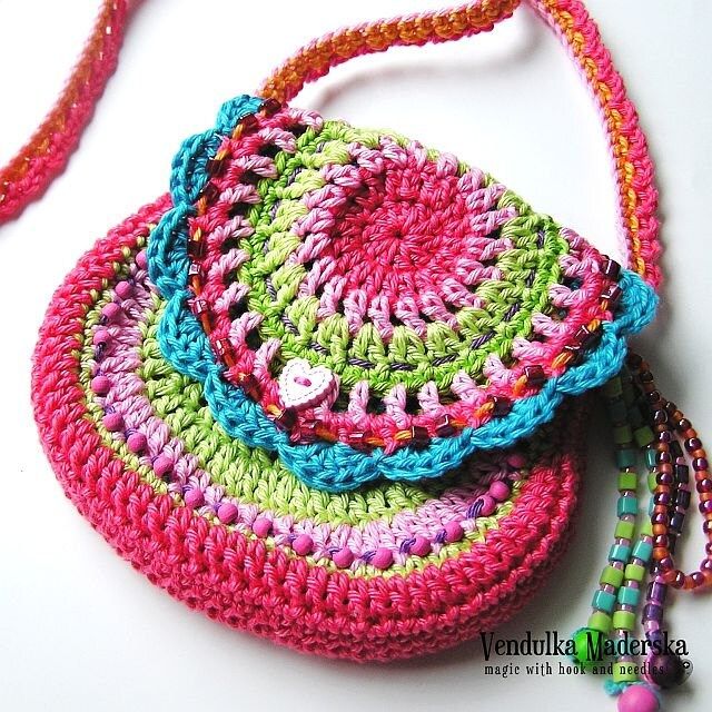 San francisco purse - crochet pattern, DIY