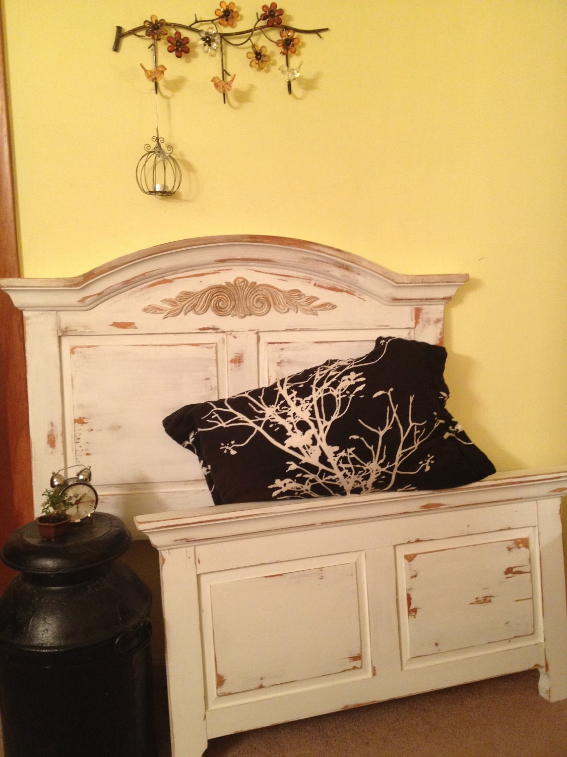 Distressed Broyhill French Country Look Twin By