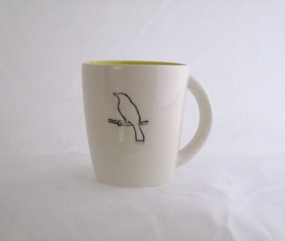 goldfinch 1 coffee mug - davistudio