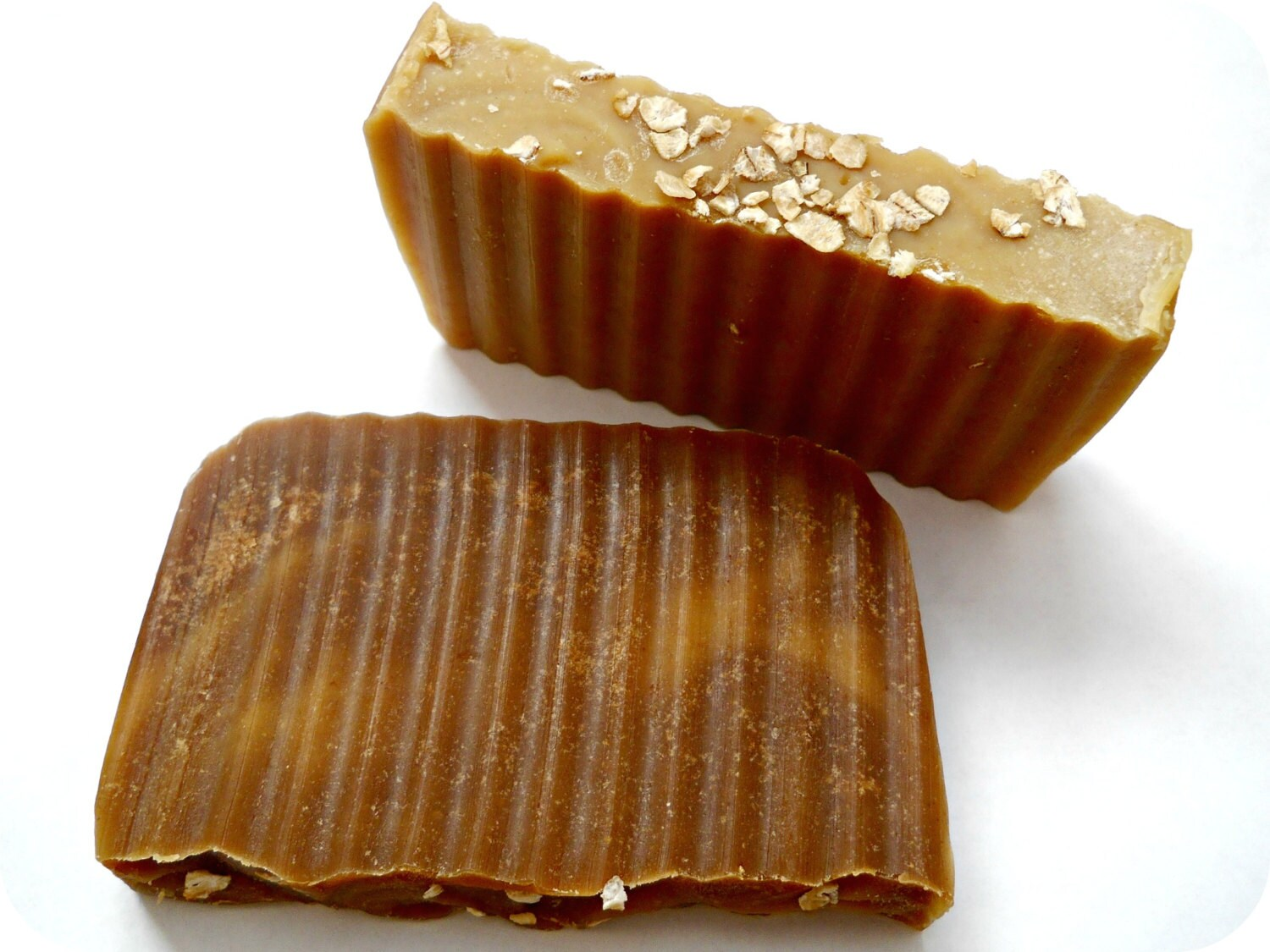Toasted Oatmeal, Sweet Milk, and Warm Honey Cold Process Bar Soap - handmade & natural - almond, vanilla, and anise scented or unscented
