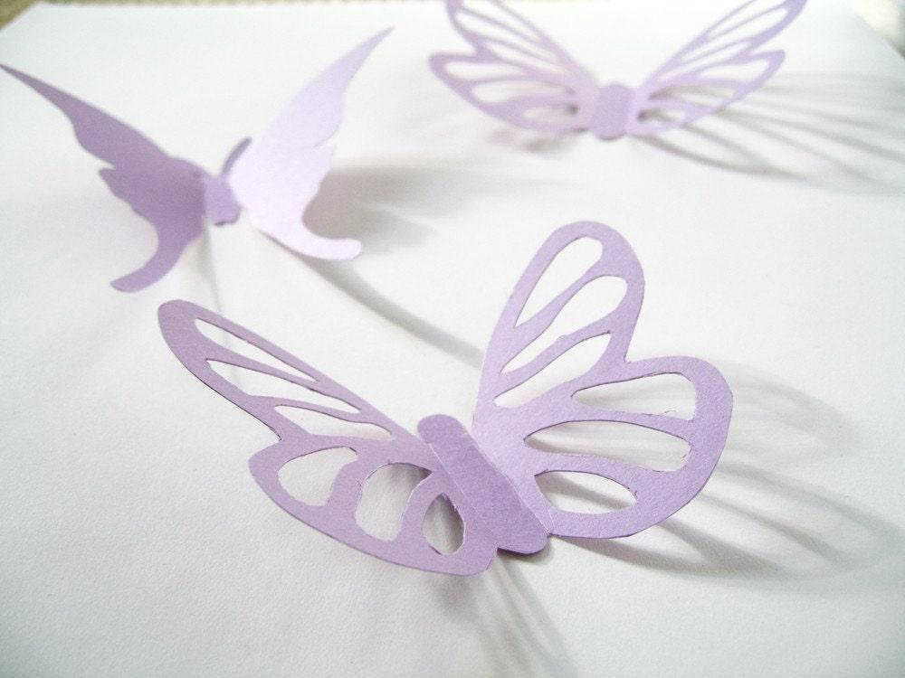 15 3d paper butterflies 3d butterfly wall art by for 3d butterfly decoration