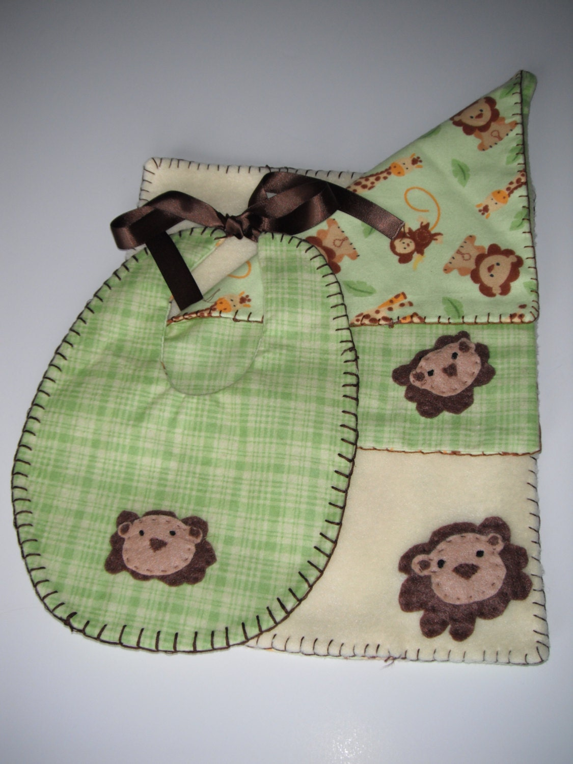 3 Piece Burp Cloth Set