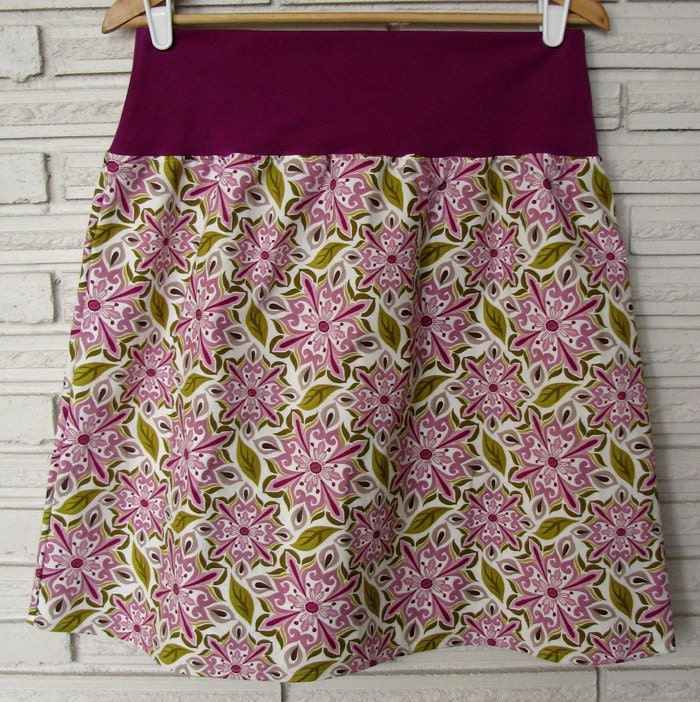 SALE Skirt A-Line, Orchid size XL