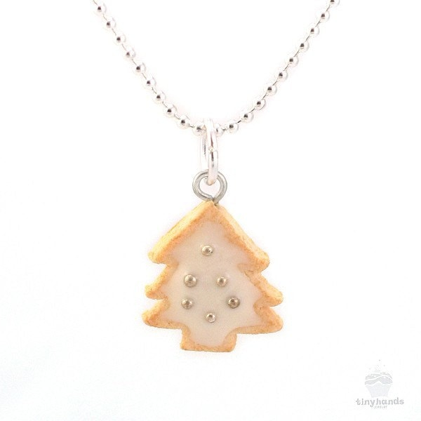 Items similar to scented christmas cookie charm necklace for How to make scented jewelry