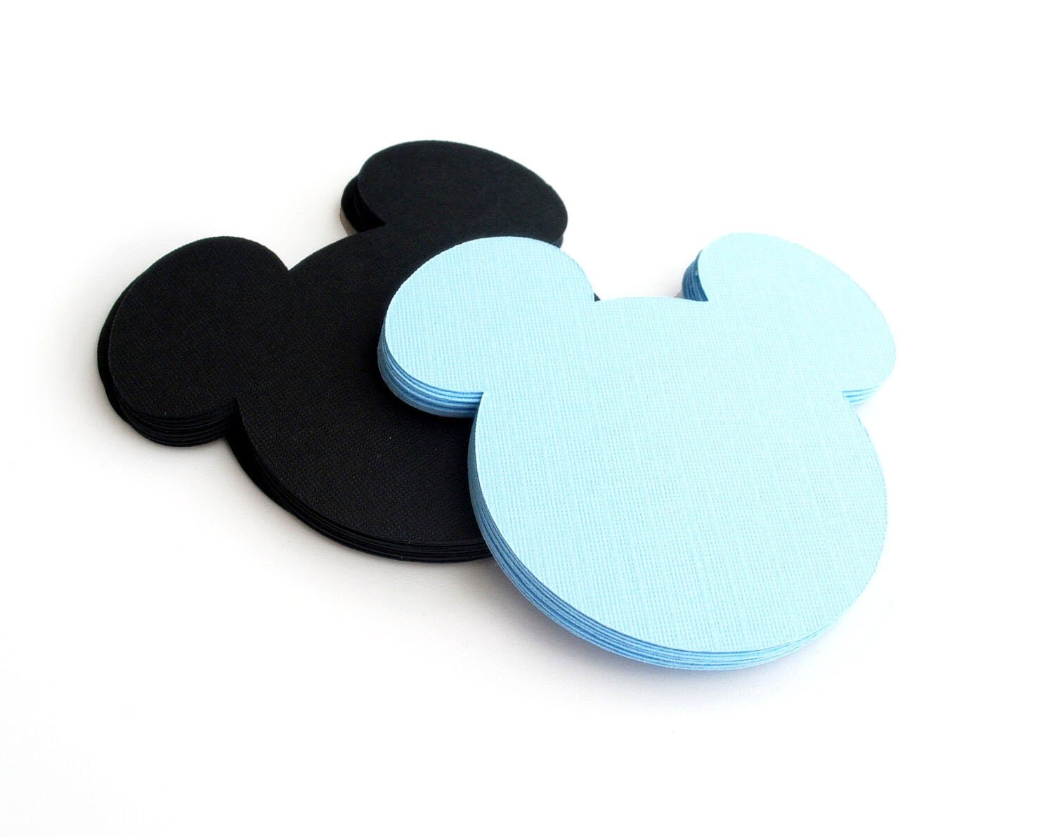18 Mickey Mouse die cut (4 x3.75 inches) Choose up to 2 colors MariaPalito A179