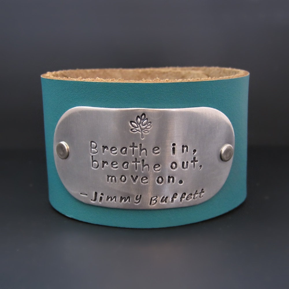 Jimmy Buffett Bracelet Breathe in Breathe by ...