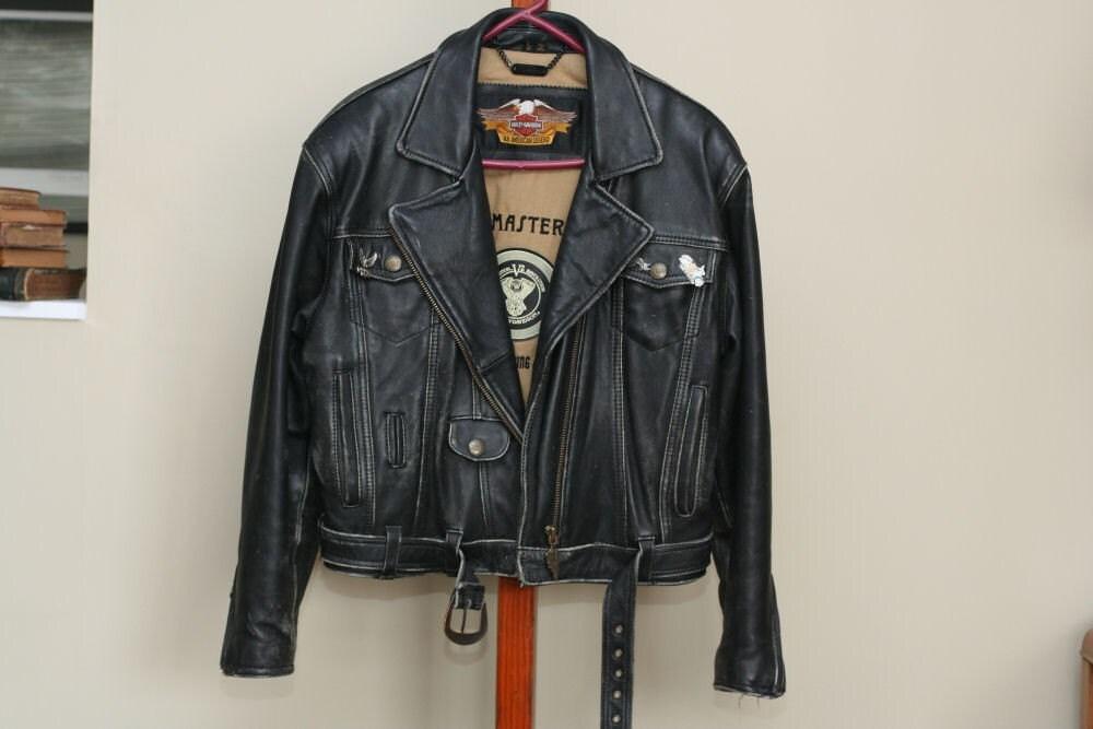 Vintage Harley Davidson Jacket Ladies Large By Suesuegonzalas