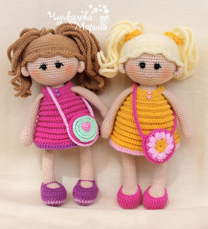 Куклы связанные крючком мастер класс