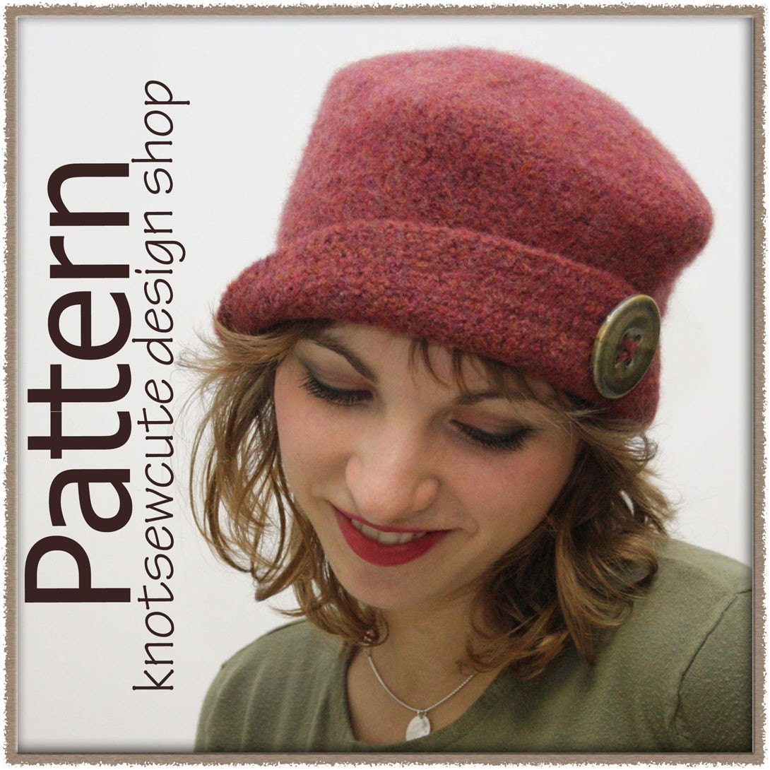 Felted Knit Hat Pattern : Unavailable Listing on Etsy