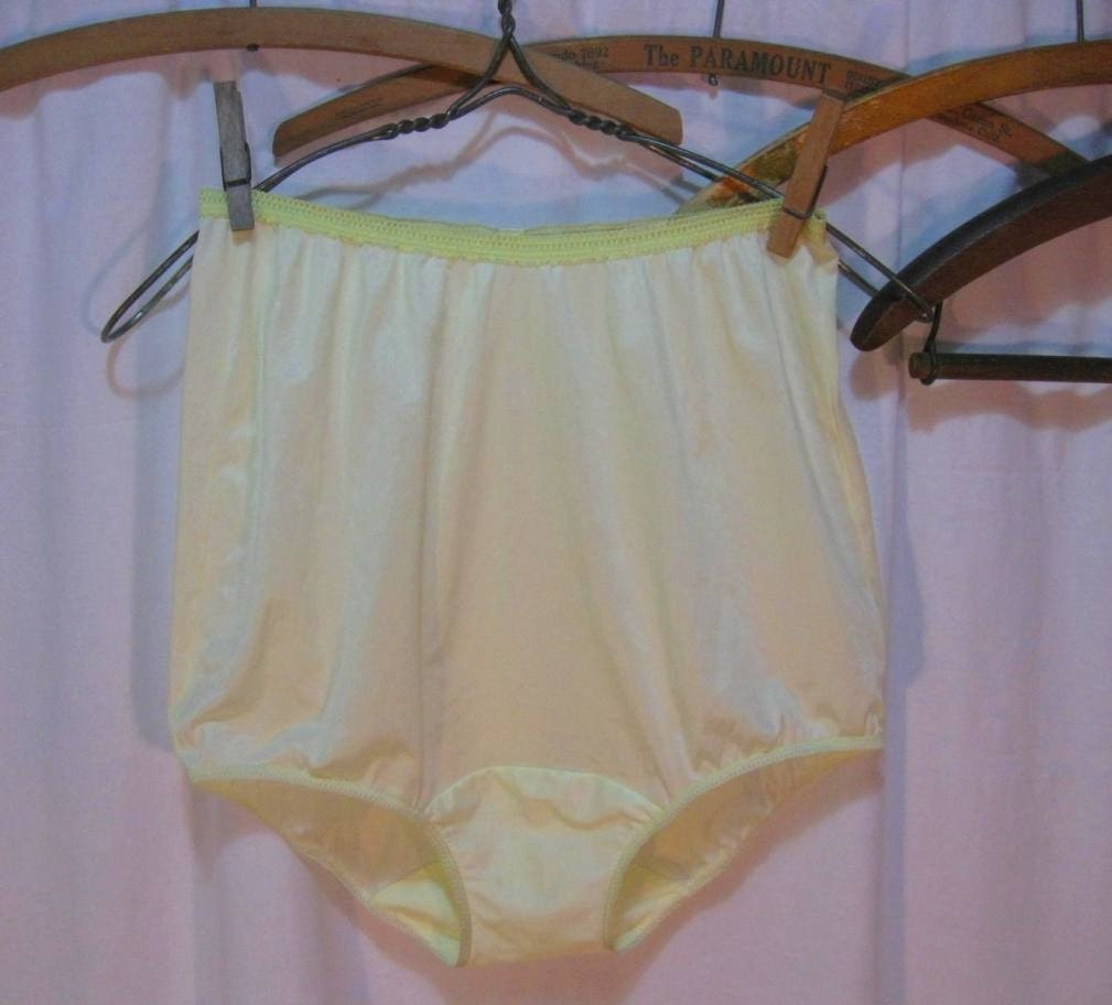 Vintage Panties Sunny Yellow By Funkomavintage On Etsy