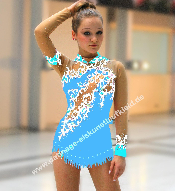 Платье для гимнастики для выступлений