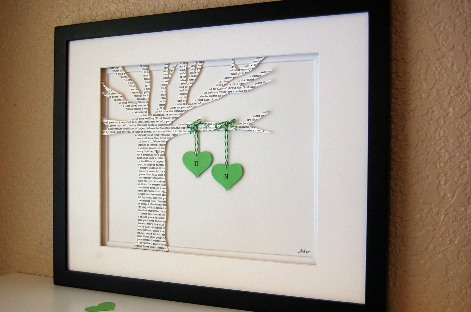 Personalised Wedding Vow Gifts : Custom Wedding Gift Wedding Vows First Dance by DomesticNotions