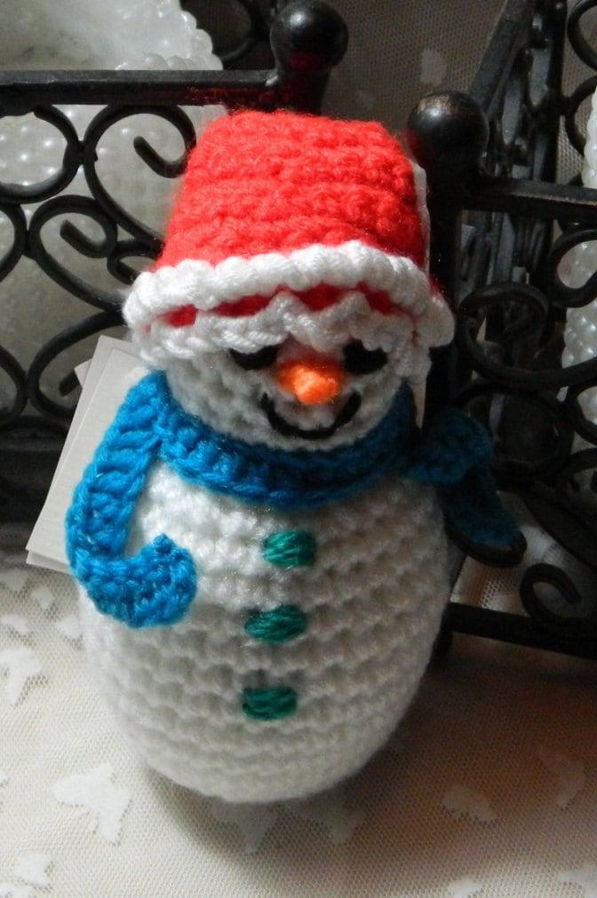 Christmas Snowman Stocking Filler