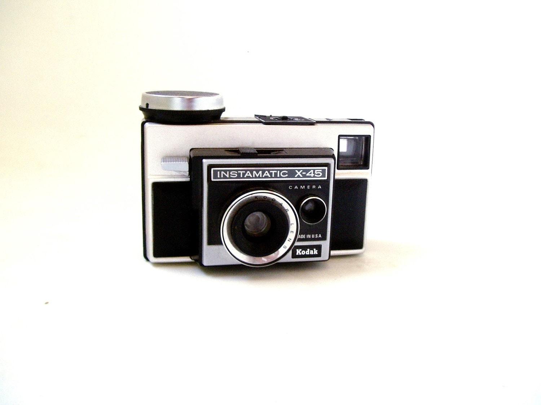 Kodak Instamatic X-45- Mid Century Photography - GravityNTheEveryday
