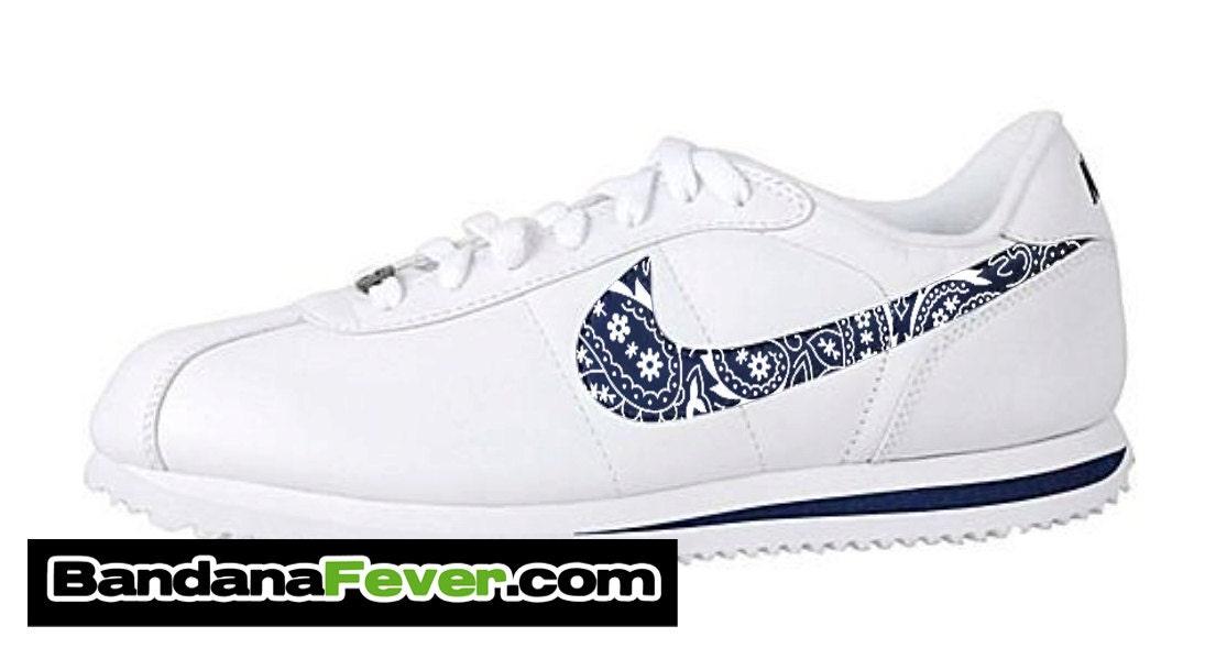 blue bandana cortez shoes