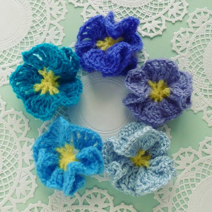 Flower Crochet Pattern Amelie Easy beginner PDF PHOTO by bySol