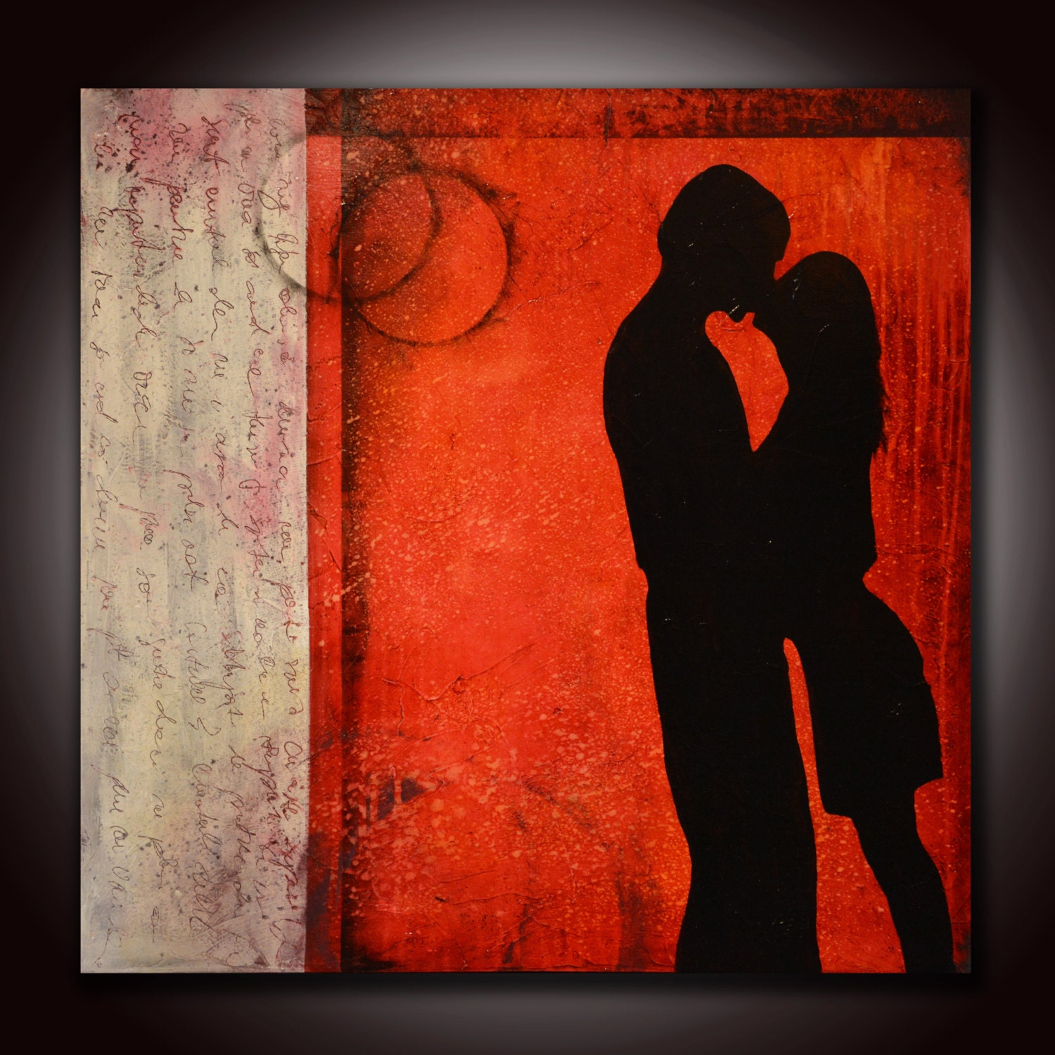 Red Feng Shui To Attract Love Lovers Painting Motivational Art