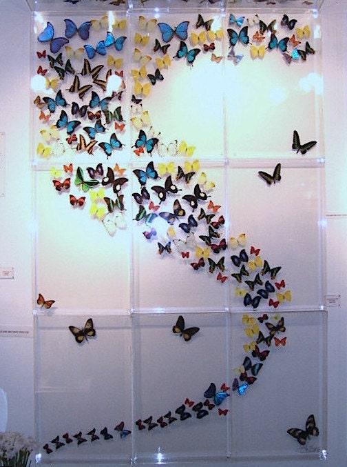 Бабочки из бумаги для украшения зала своими руками 29