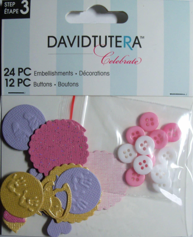 Baby Girl Embellishments Buttons by David Tutera Celebrate