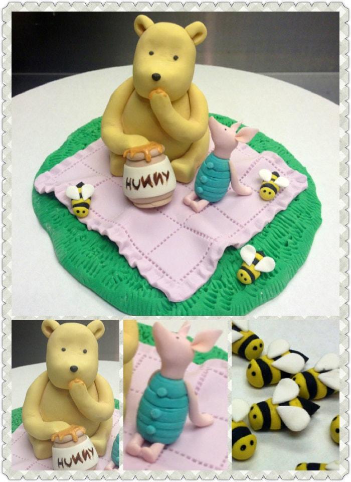 Classic Winnie The Pooh Cake Topper
