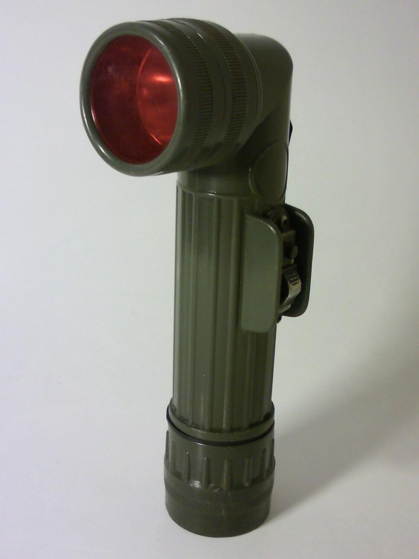 Army Plastic Battery Torch TL-122 RCU