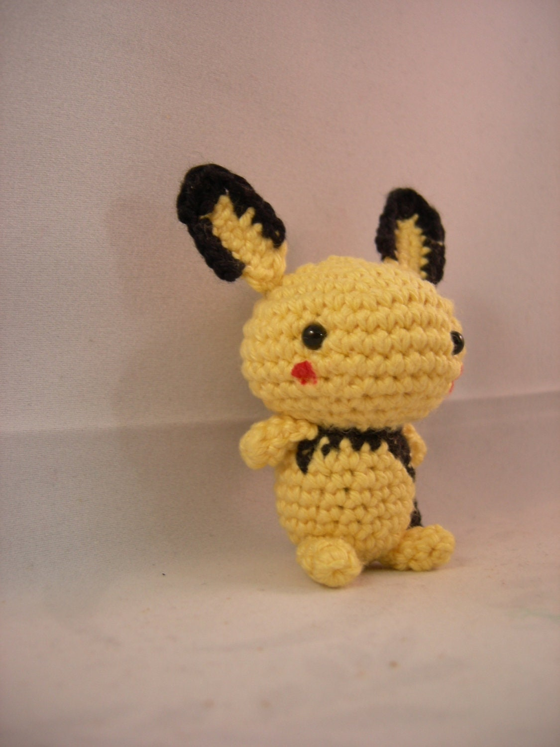 Amigurumi Pokemon Instructions : Items similar to Pichu - pokemon crochet amigurumi on Etsy
