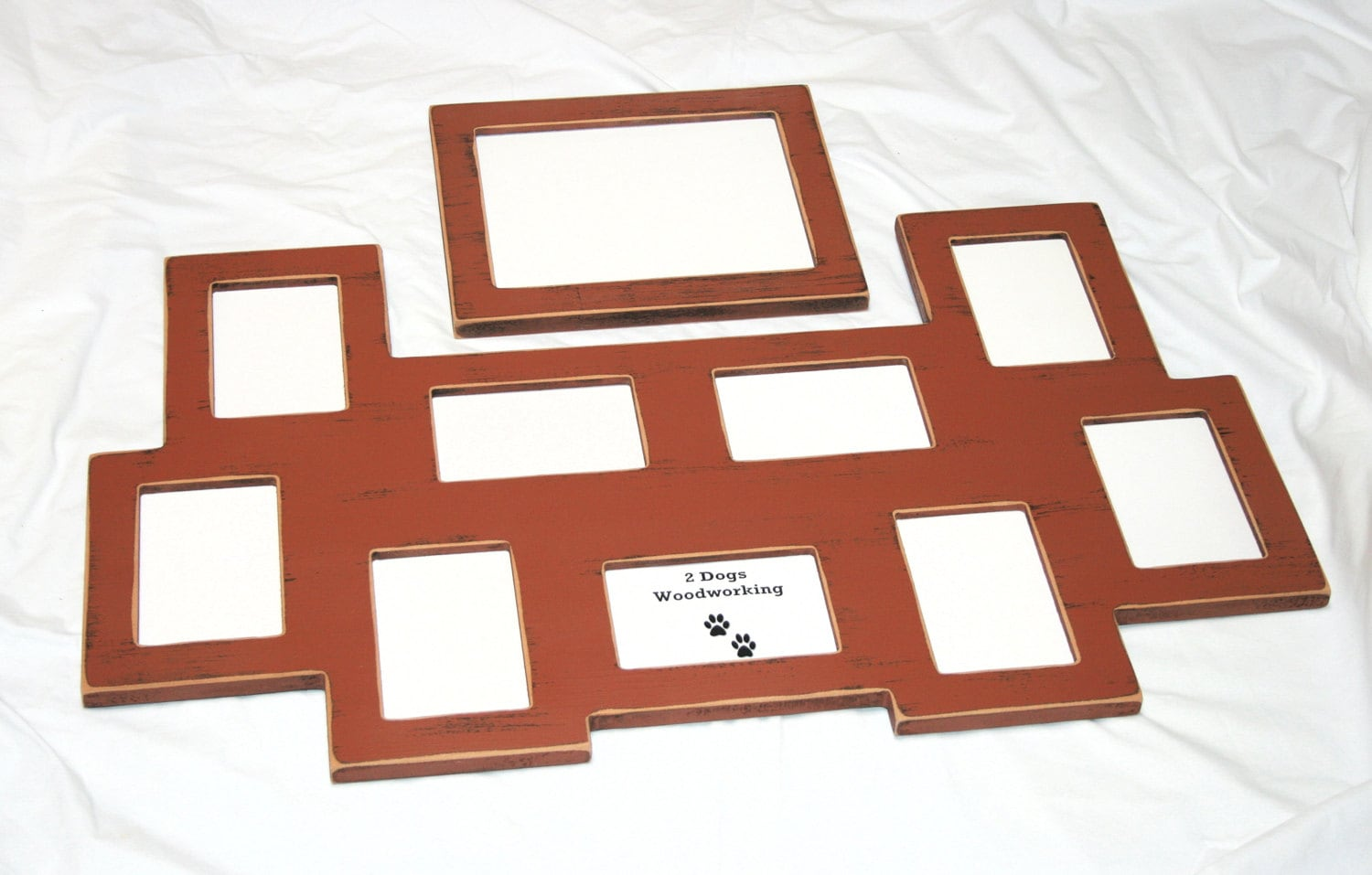Multi Opening Picture Frame 9 4x6 And 1 8x10 By