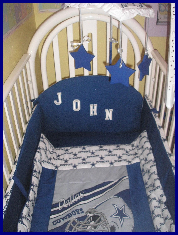 New 9 Piece Baby Crib Bedding Set In Nfl By Kustomkidsbedding