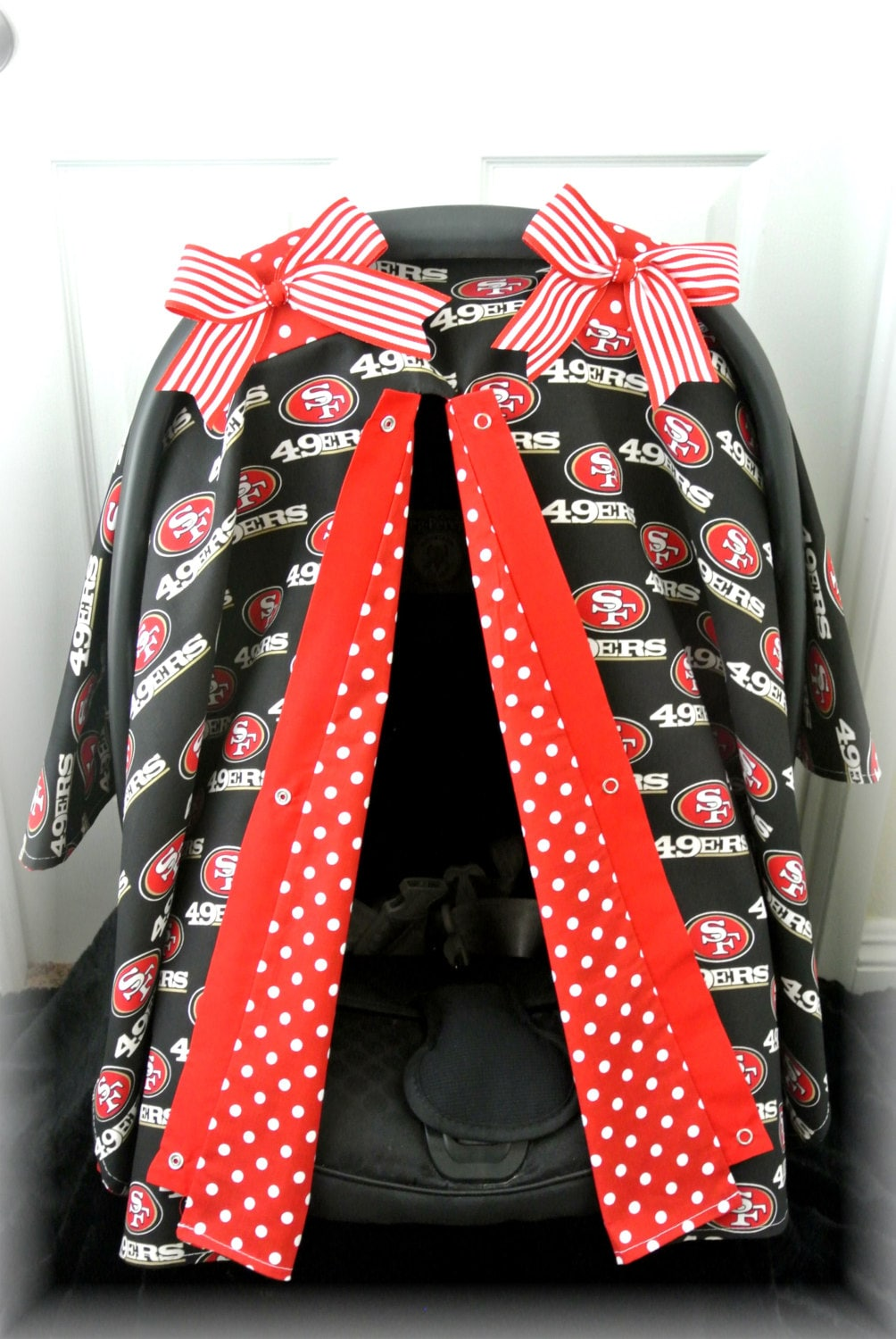 49ers Seat Covers Car Seat Canopy Car Seat Cover 49ers Red