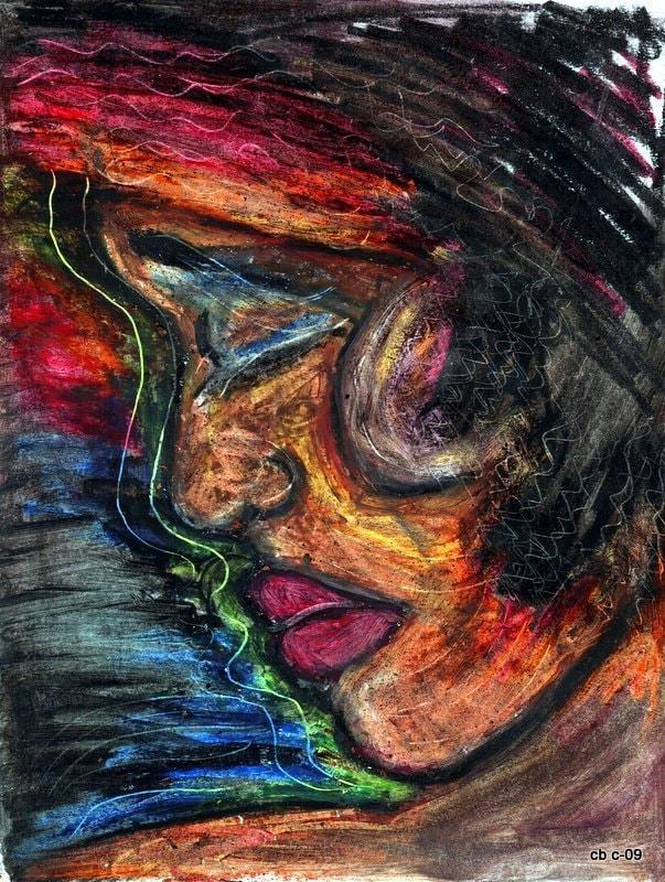SOLITUDE - Original Art by c.b 2009
