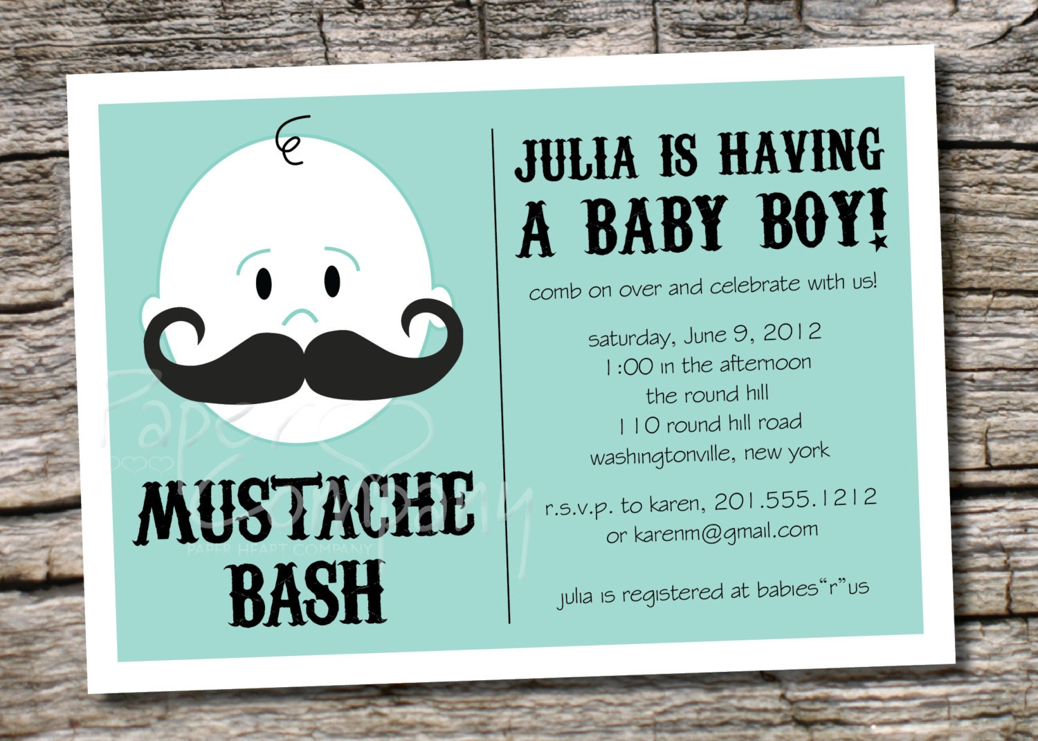 Enterprising image pertaining to free printable mustache baby shower invitations