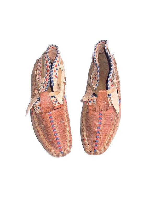 reservedvtg moroccan leather shoes by lesclodettes