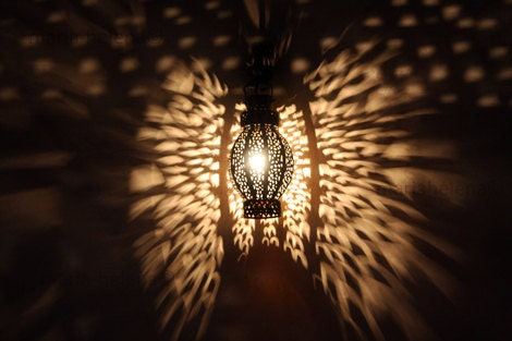 light reflections, morocco - marrakesh lantern light reflections photo - fine art photo - wings of light reflections lantern photo - MariaHelenaPhoto