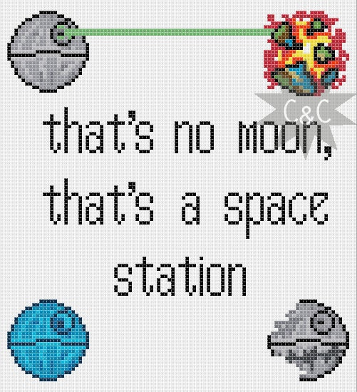 Star wars cross stitch lookup beforebuying
