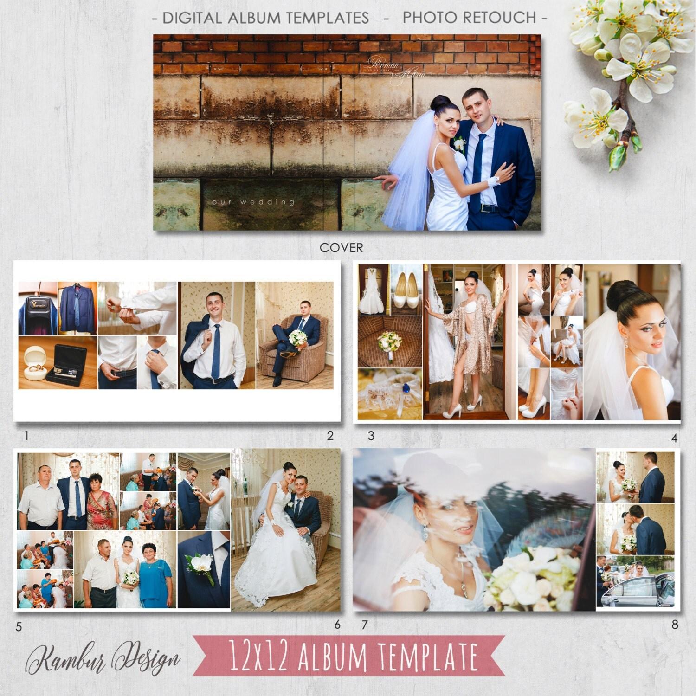 Шаблоны для свадебного альбома