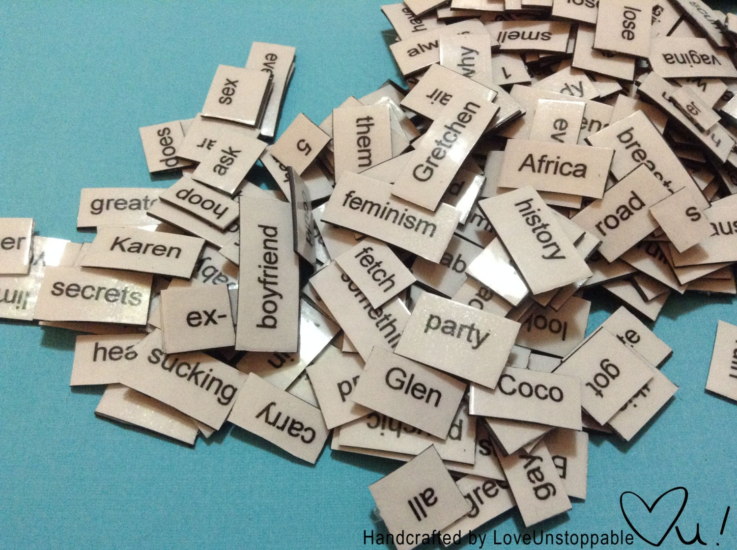 Magnetic Poetry - LoveUnstoppable