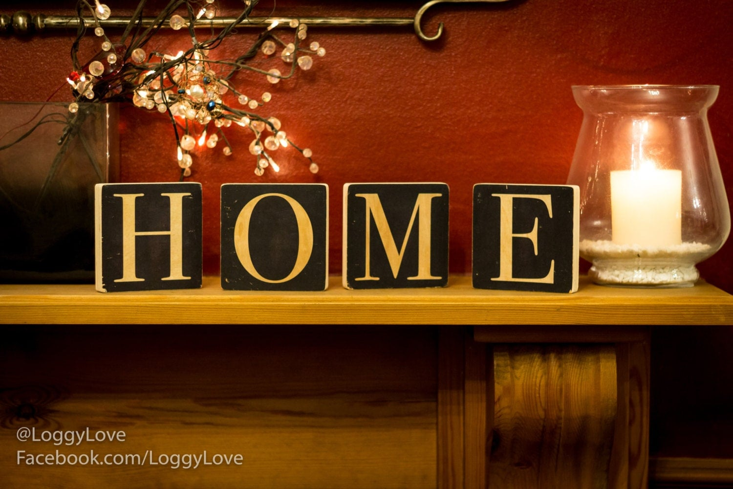 Home Sign Freestanding Blocks Wood Sign Home Decor Rustic Wood Signs Rustic Signs New Home New Home Gift Home Sweet Home