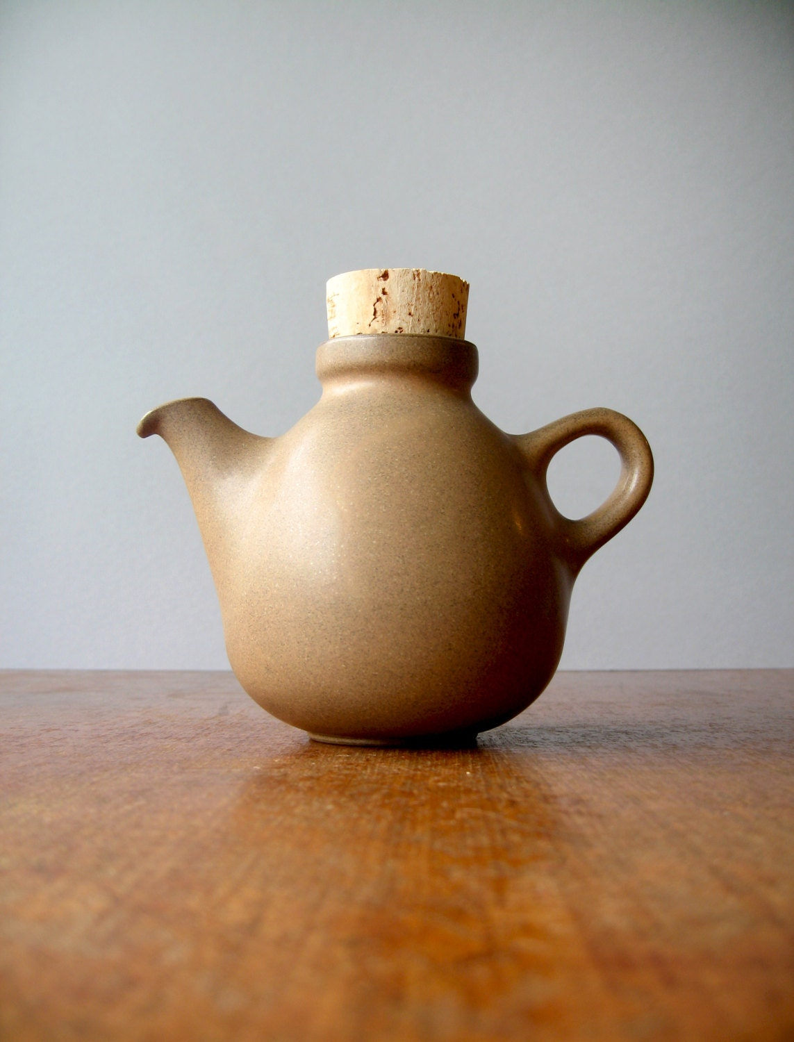 Vintage Heath Ceramics Small Teapot In Brown By Luola On Etsy