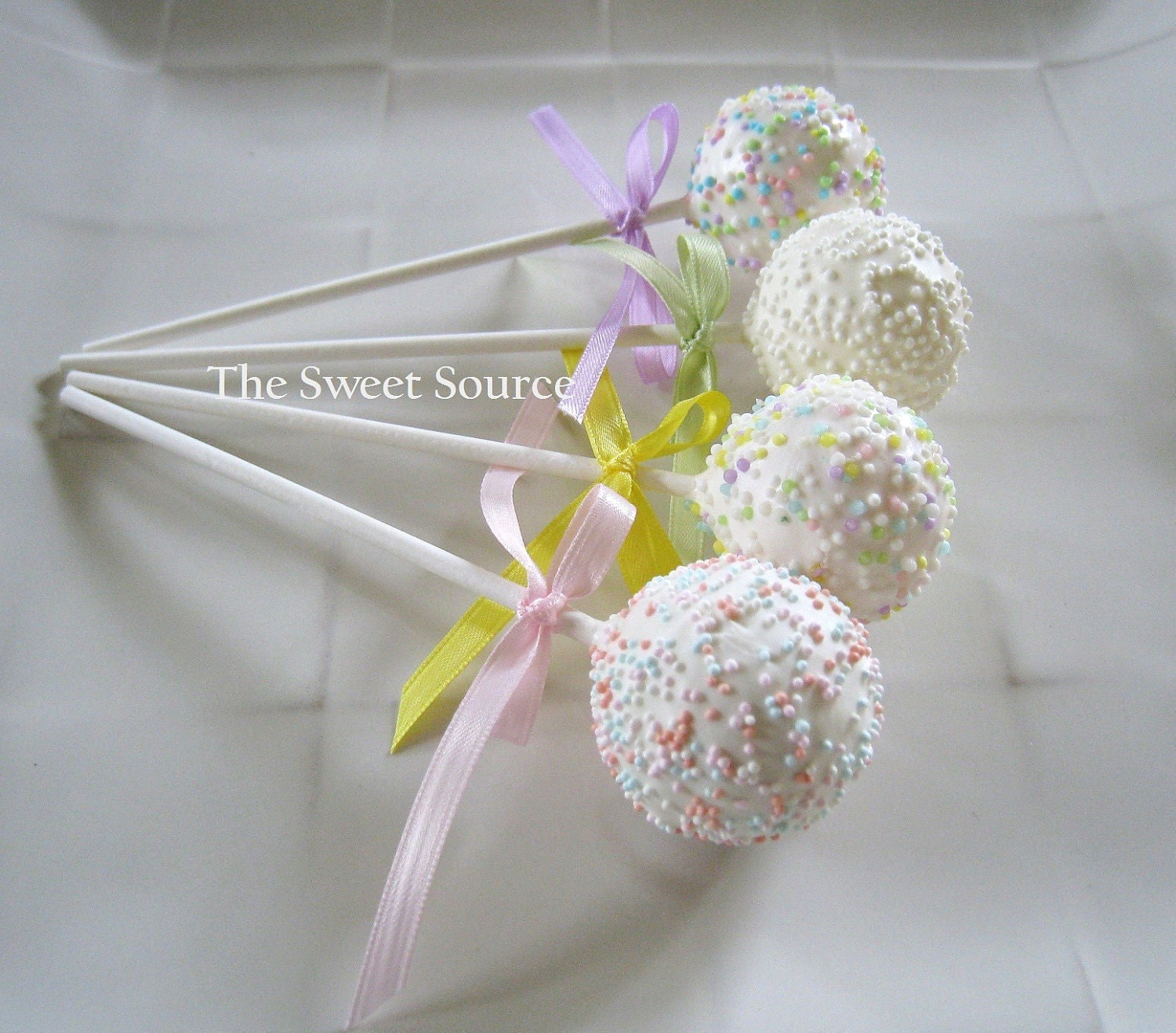 items similar to cake pops baby shower cake pops made to order with