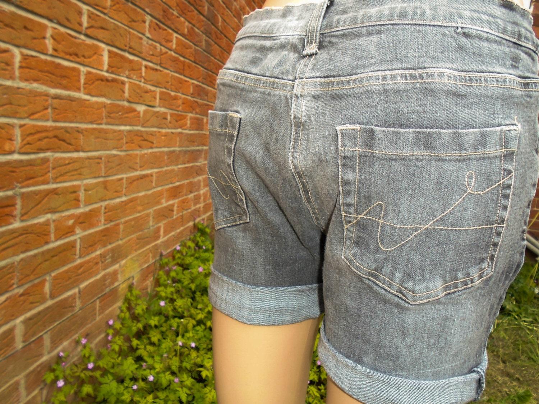 Womens Denim Shorts Uk