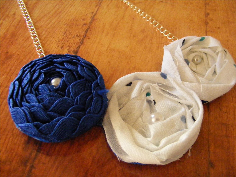 Necklace Beautiful Blue