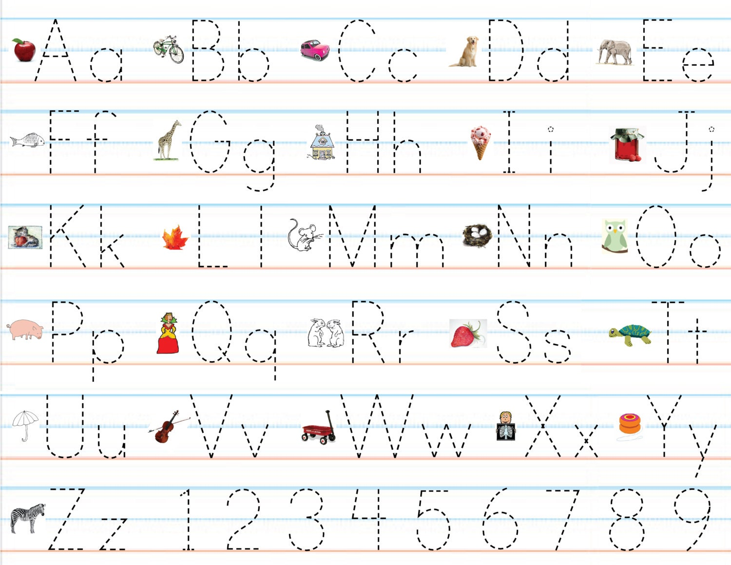 Abc worksheets for kindergarteners